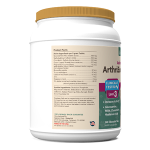 ArthriSoothe-GOLD® Advanced Care Chewable Tablets
