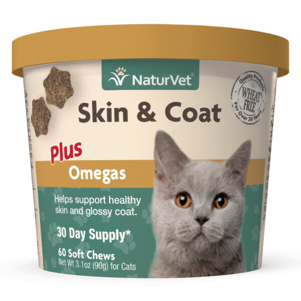 Skin & Coat Plus Omegas for Cats