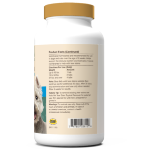 Tear Stain Supplement Tablets