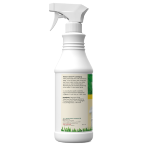 Yellow to Green Lawn Spray