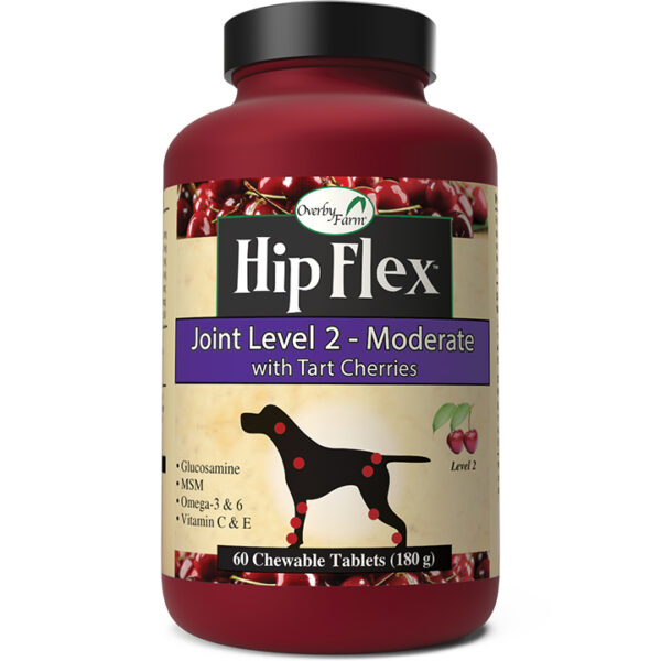Overby Farm® Hip Flex™ Level 2 Chewable Tablets