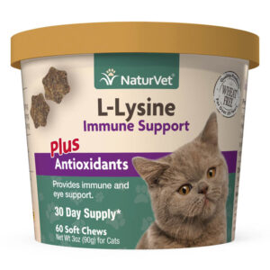 L-Lysine - Immune Support For Cats