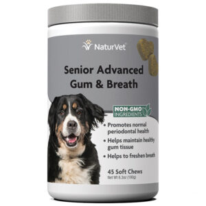 Senior Advanced Gum and Breath Soft Chews